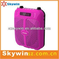 Support MP4/Mobile/Computer/Ipod player mini portable speaker
