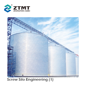 Widely Used Stainless Steel Grain Storage Silo