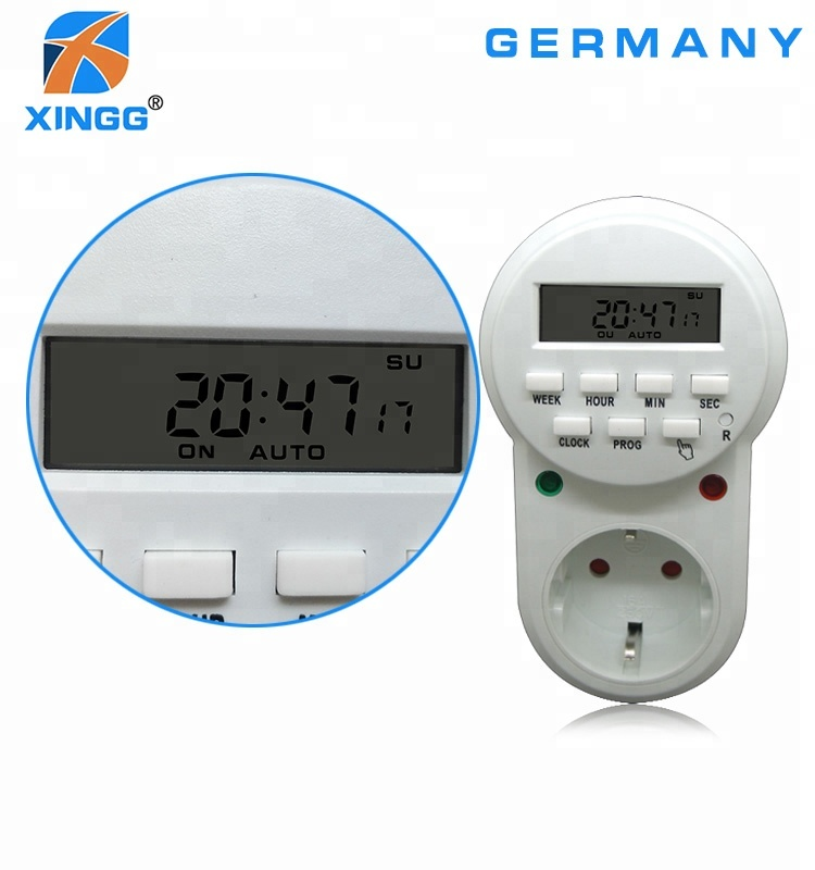 europe auto off switch timer electrical socket timer