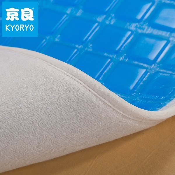 silicone material cool gel soft mattress pad for three season