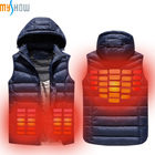 New Product Ideas 2019 Fashion Winter Far Infrared Battery Heated Smart Clothes For Outdoor