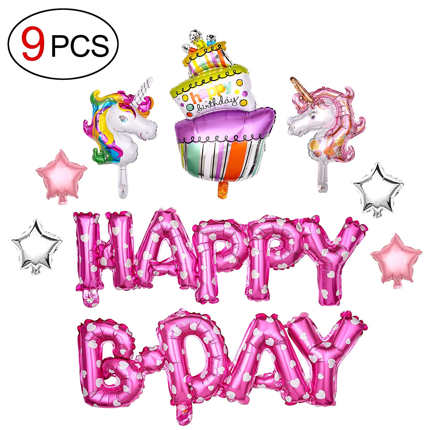 Cheap Pink And Silver Birthday Party Decorations, find Pink And ...