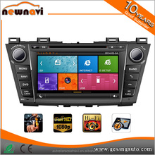 cheap 8.0 inch Multi-Touch Capacitive Screen In-Dash Car DVD Player for Mazda 5 with GPS