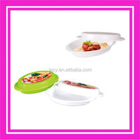 Newest plastic cake plate with cover from China