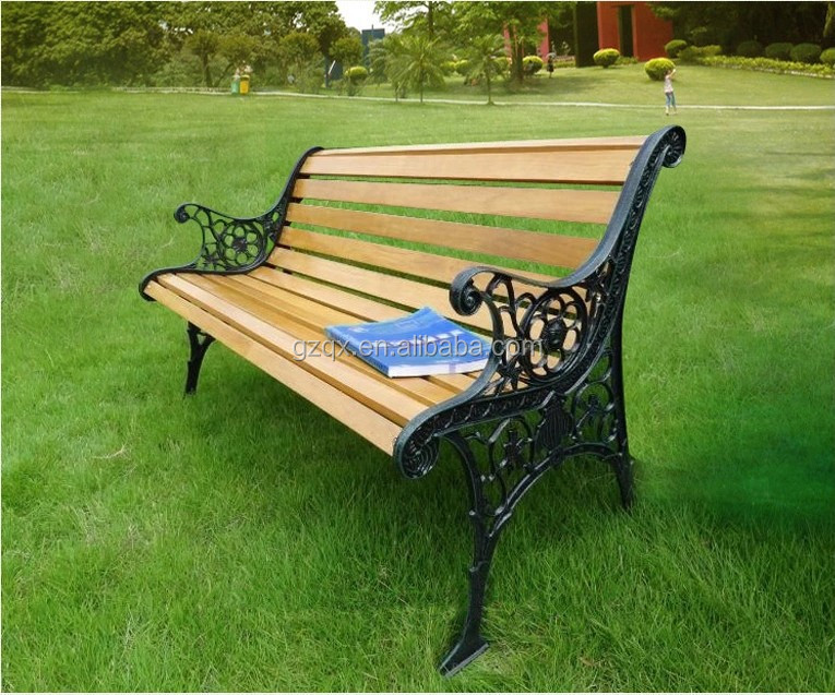 Amut Park Long Bench Chair Wooden Designs Qx 143k