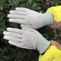 Unique Fashion light pu gloves