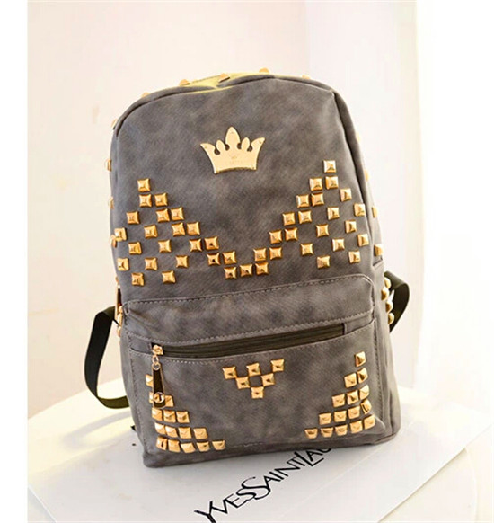Trendy Leather School Bags For Teenage Girls Cheap Cool