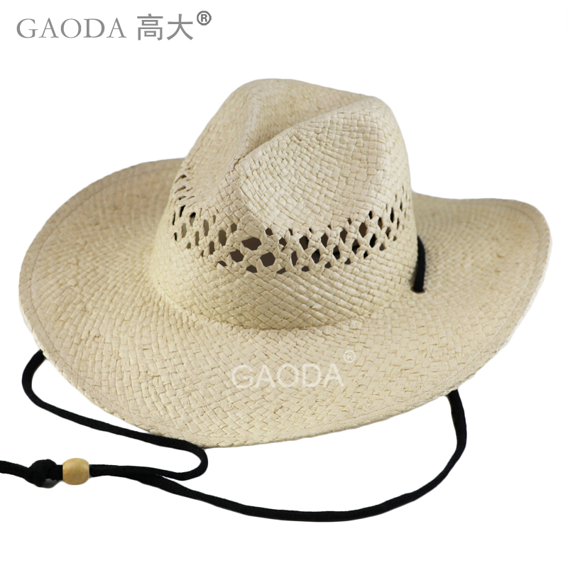 59f0ac778f9 Factory offer promotional custom made mexico straw sombrero printed cowboy  hat