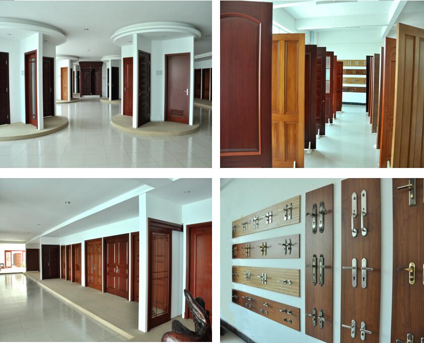 Moderne double porte en bois principales portes d 39 entr e for Portes principales bois