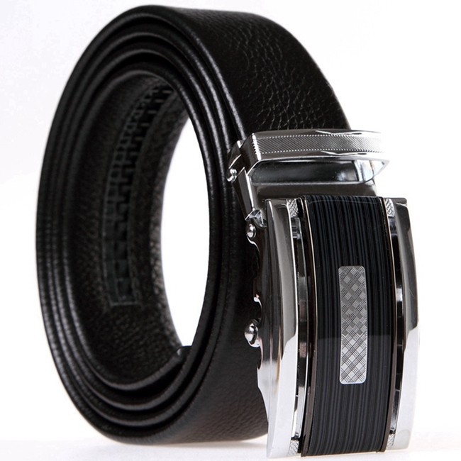 2015 Automatic Buckle Men's Genuine Leather Belt