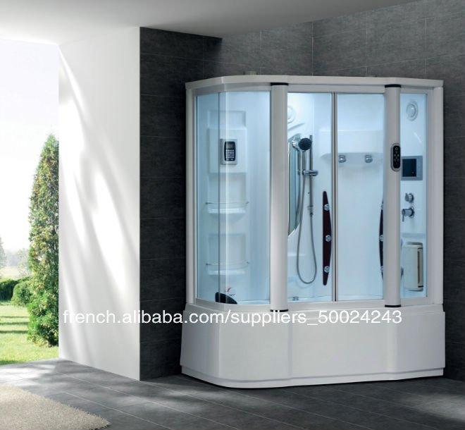 douche de lumire musique antibue douche miroir ides salle de bains de luxe hammam de douche - Miroir Salle De Bain Antibuee Radio