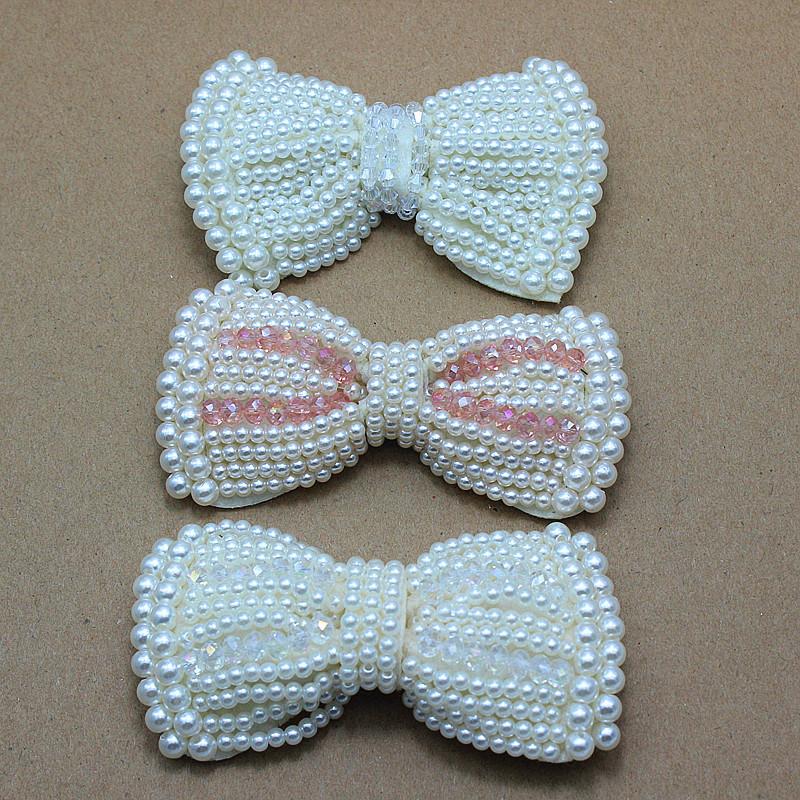 Infant Shoes Fabric Lace Flowers