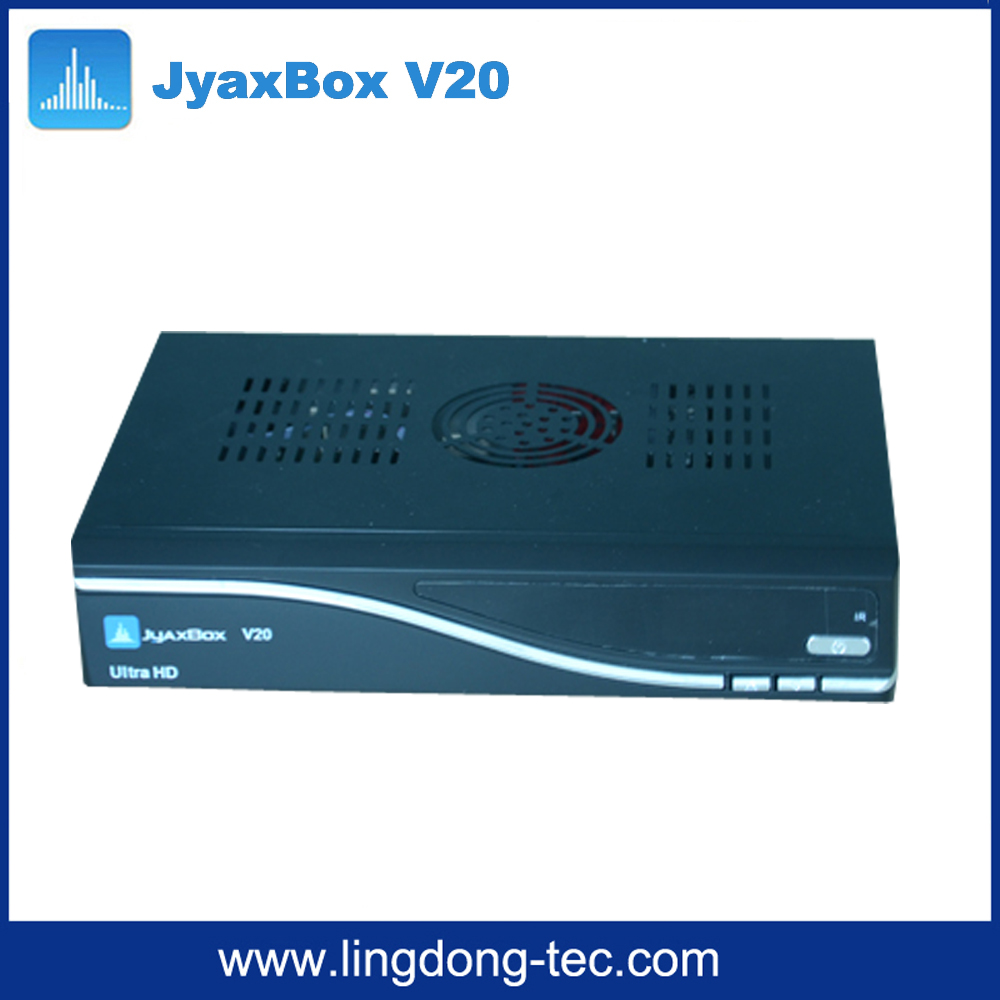 2016 Jyaxbox Ultra HD V21 V20 V30 with turbo 8psk JB200 and Wifi adapter Full HD1080P for Puerto Rica