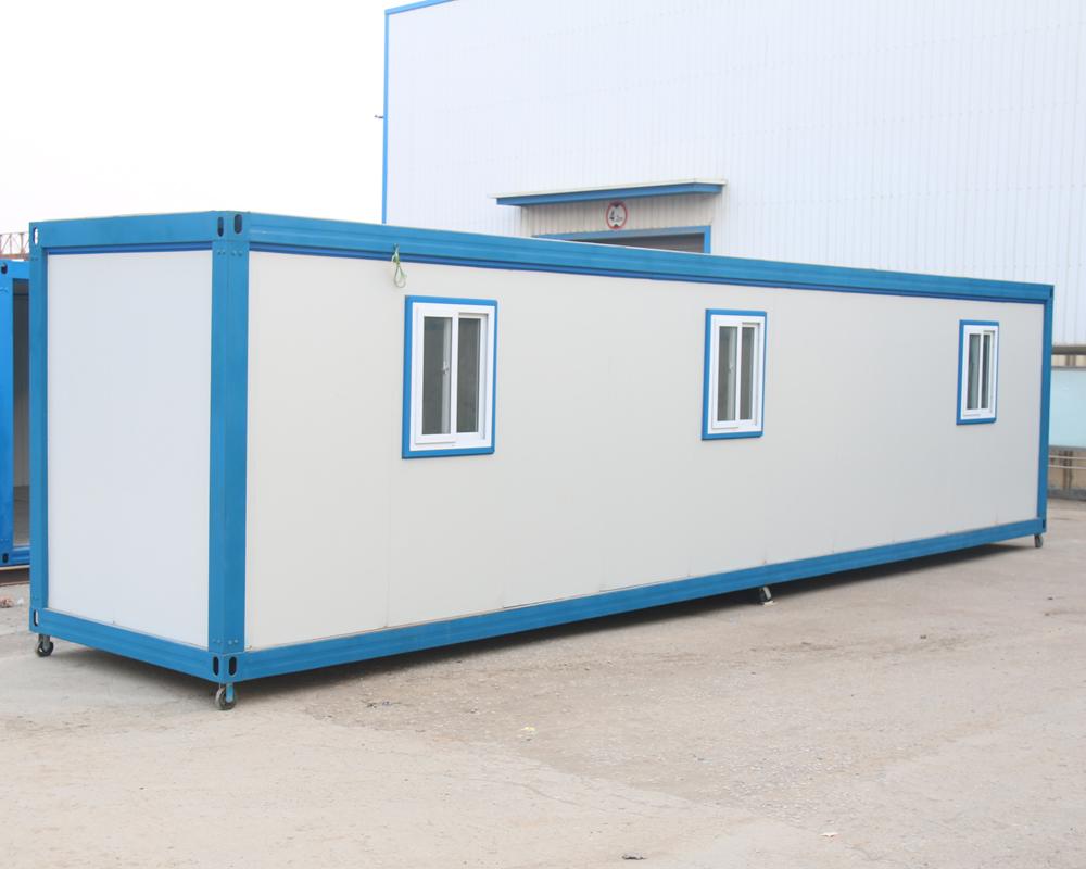 modified prefabricated container house cabins for worker accomodation in foshan