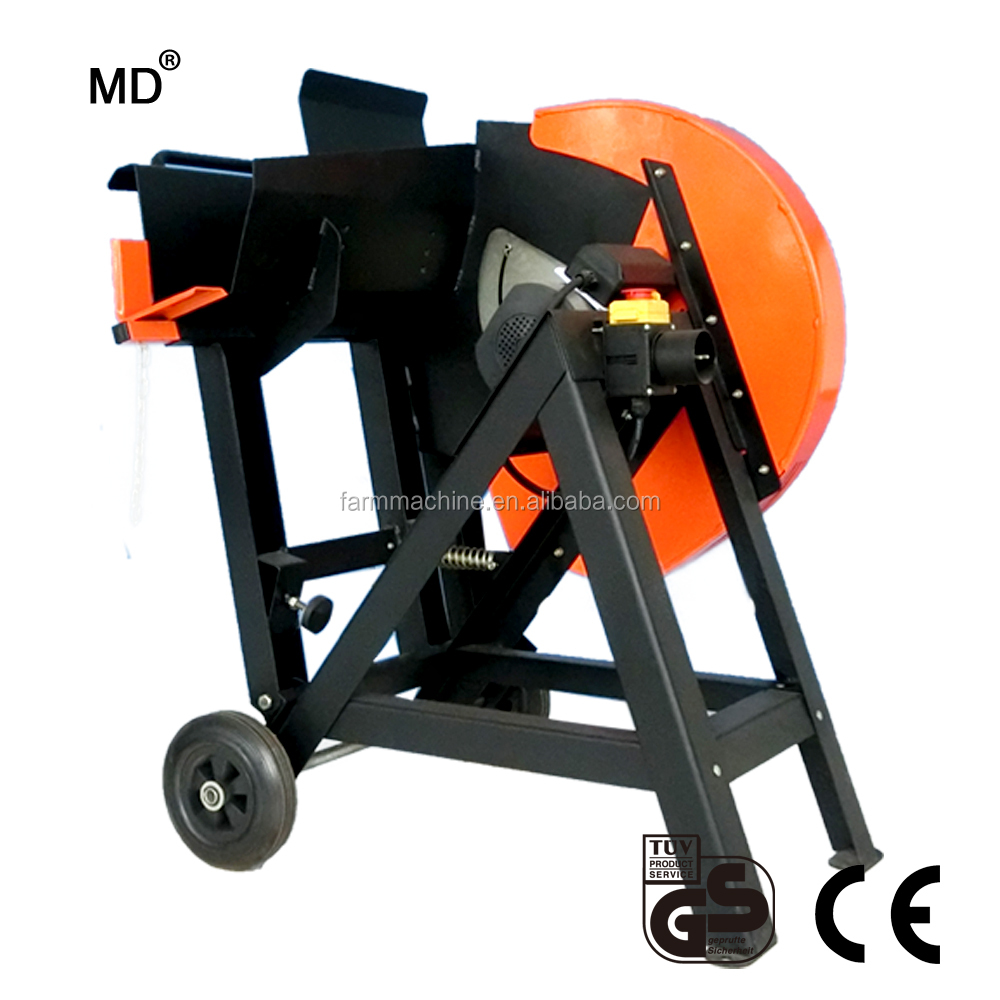 "17.7"" 2200W wood firewood cutting saw machine HJ450"