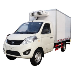 5 tons small box refrigerator truck