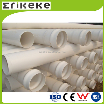 White thin wall PVC water pipe with bell end  sc 1 st  Alibaba & White Thin Wall Pvc Water Pipe With Bell End - Buy Pvc Water Pipe ...