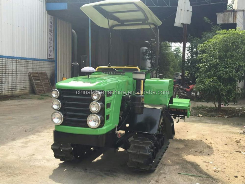 Tractor Mounted Corn Combine Harvester / Silage Harvester