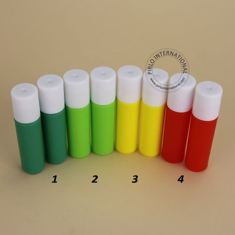 Candy Color 2ml Perfume Sample Bottles Empty Mini Plastic Roll On Perfume Bottle