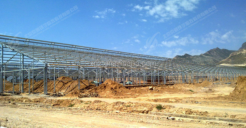 hot dip steel structure Material and Chicken Use modern chicken farm for layer hen egg equipment in poultry farm