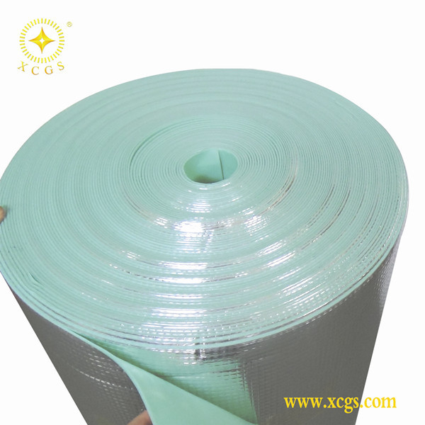 Fire Retardant Mat Flooring Underlay,Heat Reflective Aluminum Foil Foam Mat For Wood Carpet