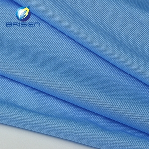 China Soft Breathable Blue 20D Nylon Multifilament Lining Fabric for Garment, Sportswear, Trouser Material