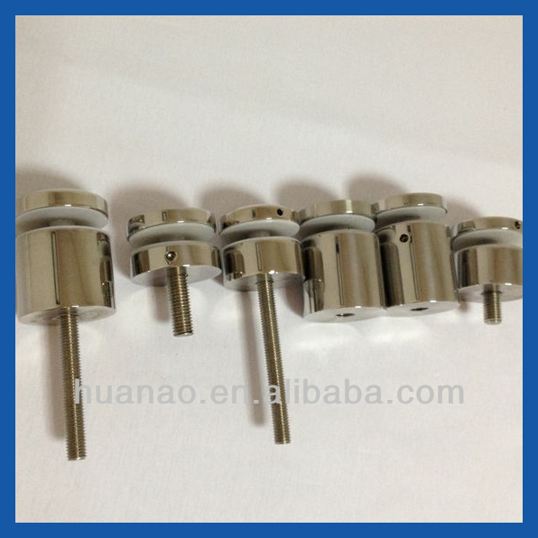 Poli miroir en acier inoxydable standoff pin pour sans for Miroir 50x70 sans cadre