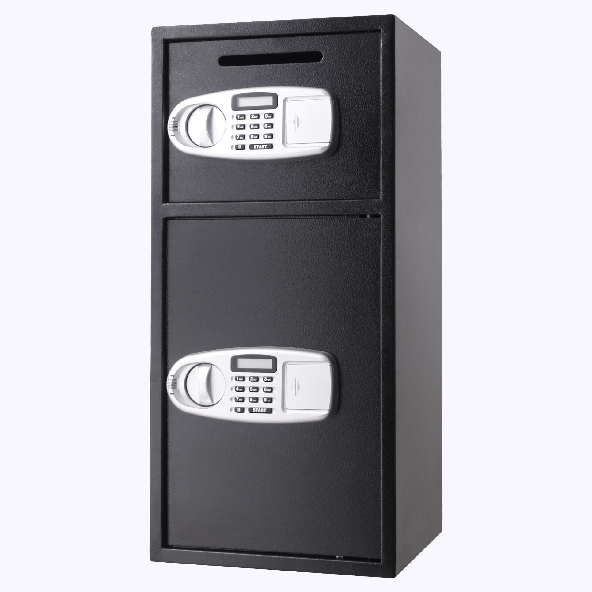VEVOR Security Safe Box Double Door Digital Safe Depository for Money Gun Jewelry