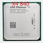 AMD Phenom II X4 840 3.2G AM3 CPU Quad Core Official Edition