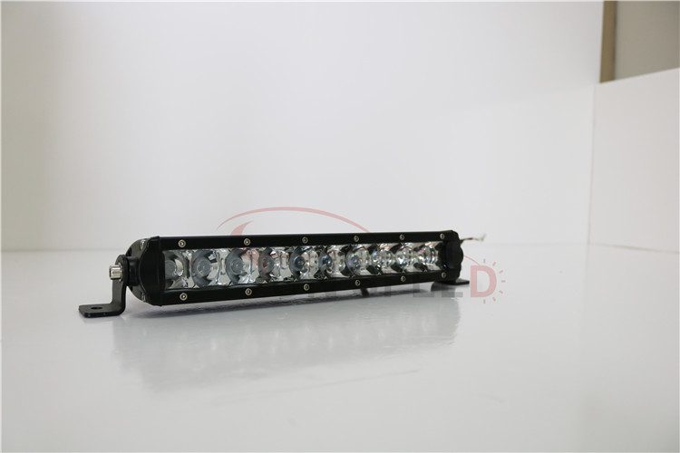 4x4/SUV/ATV/4WD/truck parts 30w 7.5'' working light bar ,slim size one row lamp with 5watt C-R-E-E CHIP