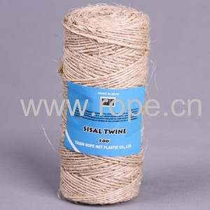china 3 strands natural gardening sisal twine sale