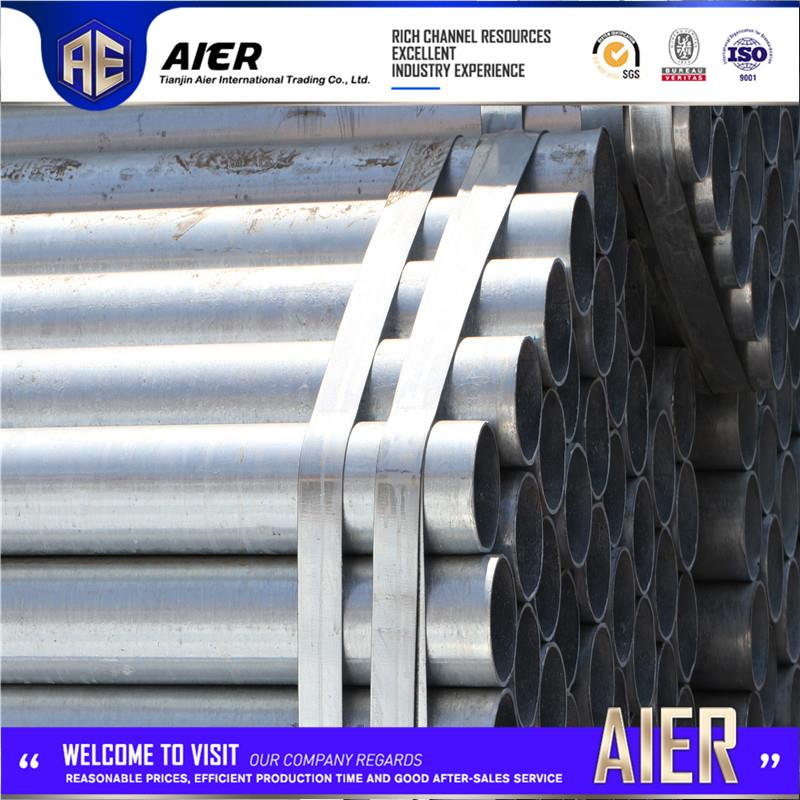 Professional astm a53 grade b steel tube 4 with high quality