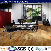 PVC Vinyl flooring with click system