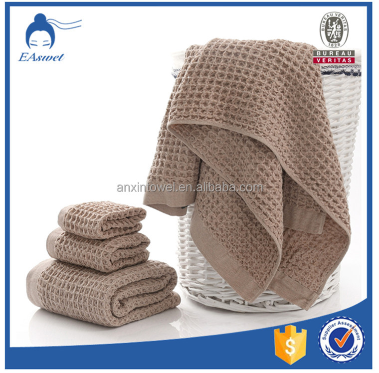 Promotional OEM Waffle Thermal Blanket ,stock fabric in japan waffle blanket