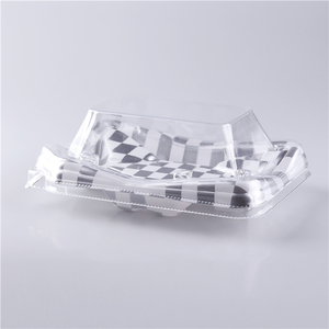 KW-0013YBG Plastic packaging box packaging trays /serving food tray PS material
