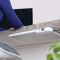 Table and wall mount panel electric infrared heater