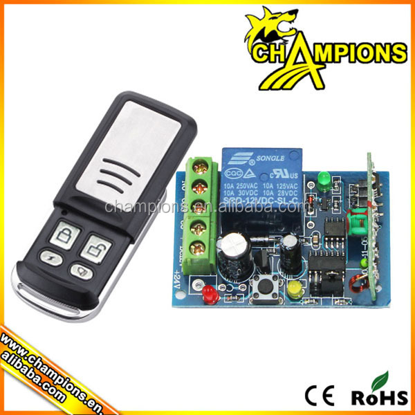 remote control starter switch