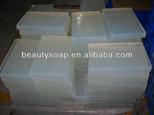 2017 Hot Sell ! highly transparent soap base; beauty soap base