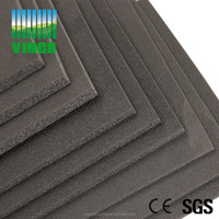 Ground Noise Damping Rubber Sound Proof Architectural Design Materials Soundproofing and Floor Mats