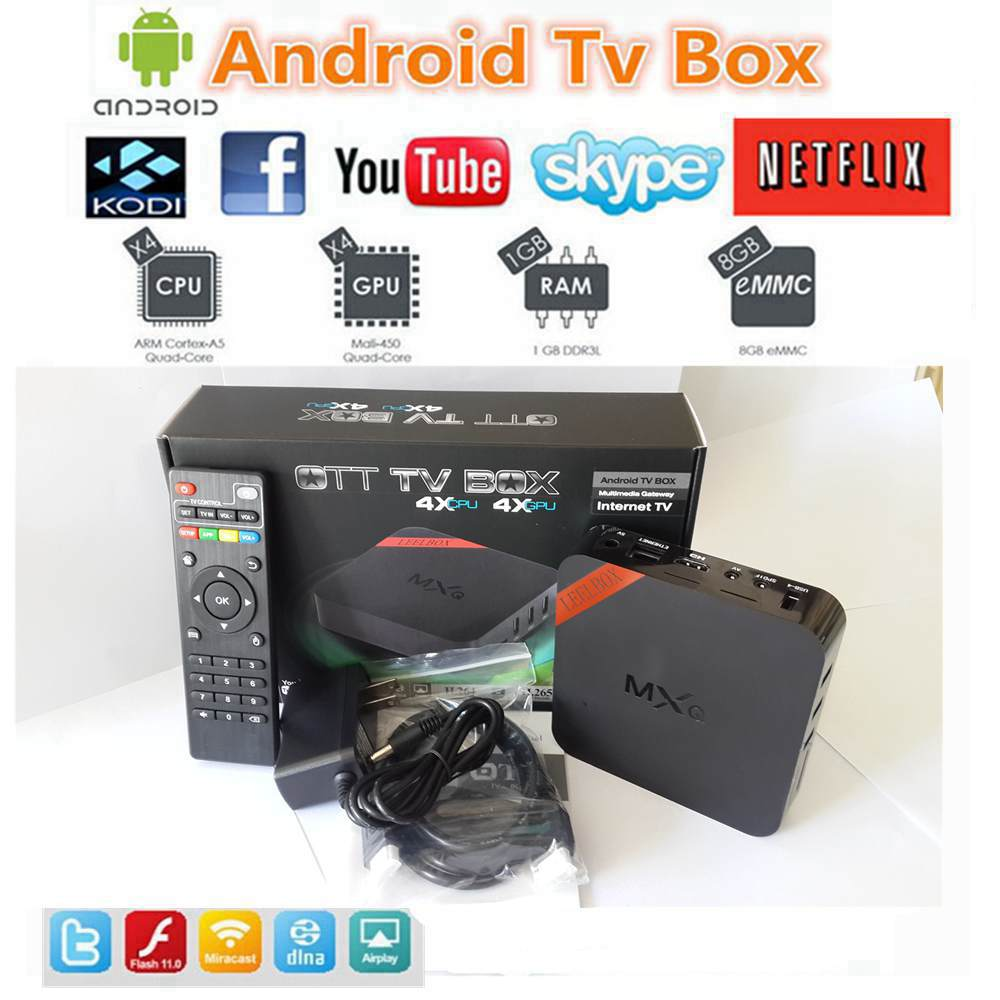 Digital Media Players & Streamers - MXQ S805 Android 4 4 Quad-Core