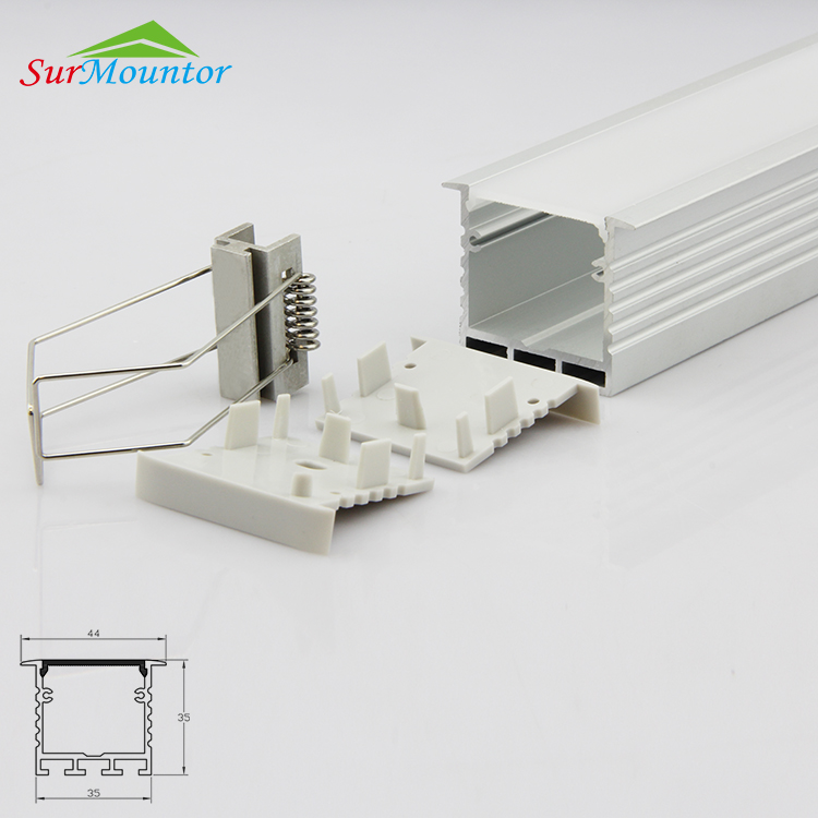 High quality led aluminium radiator heatsink designed for flexible led strips
