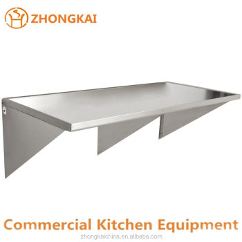 Kitchen Accessories Stainless Steel Wall Mounted Table Duty Rack - Stainless steel table accessories