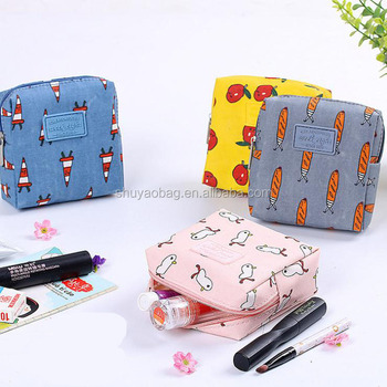 7331ac73c36a Korea Cartoon Color Flower Cortex Small Cosmetic Bag With Small Objects  Storage Bag Jewelry Bag Purse - Buy Small Cosmetic Bags With ...
