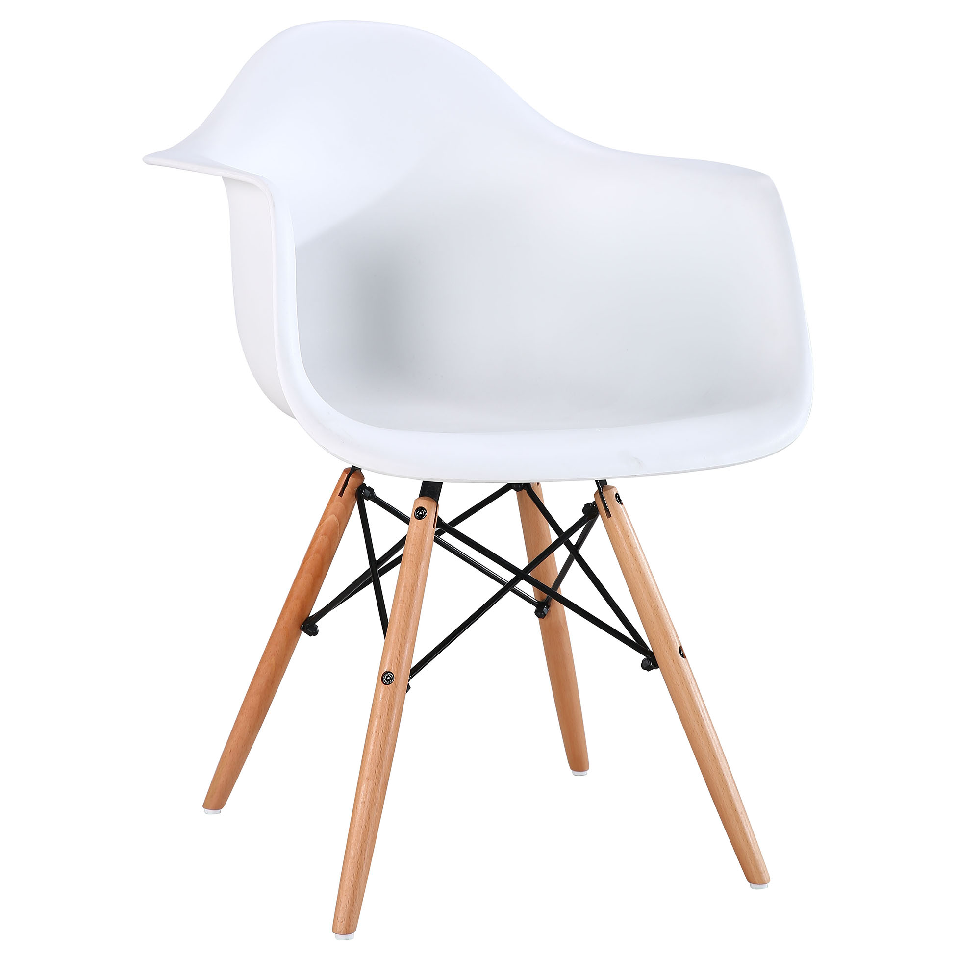 Terrific Cheap Wholesale Modern Luxury White Plastic Bucket Wooden Legs Armchair Kitchen Dining Room Chair For Sale Buy Dining Chair For Sale Plastic Bucket Bralicious Painted Fabric Chair Ideas Braliciousco