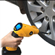 Wriless12 V Gun Share Tire Inflator with Charger, Automotive Handheld Portable Air Compressor Auto Tire Inflator Pump