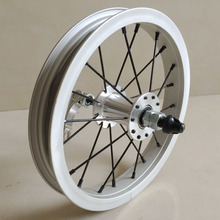 12 inch wooden balance front wheel with quick release
