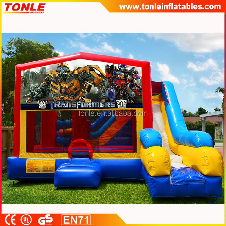 new design inflatable TMNT Ninja Turtles Bounce House Combo/ inflatable jumping castle/ bouncy castle for kids