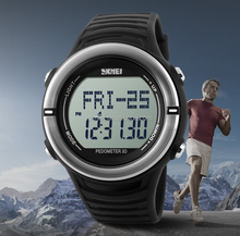 3D pedometer heart rate monitor watches