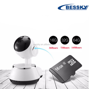 Baby monitor wireless CCTV ip camera with speaker microphone available for 3G 4G mobile phone