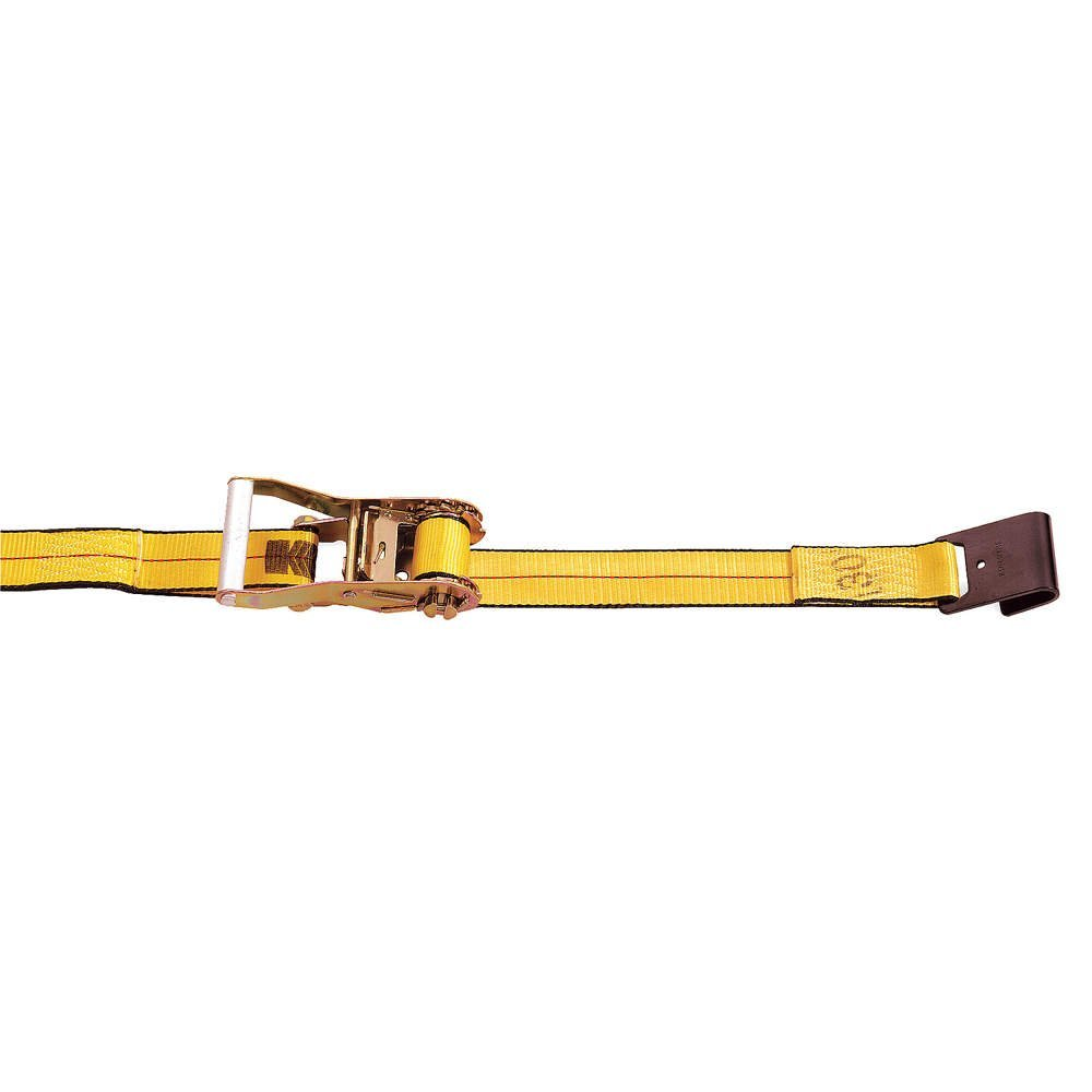 Kinedyne 513084PAK StrapPak 2 x 30 Ratchet Strap with Wire Hook and Wide Handle Ratchet